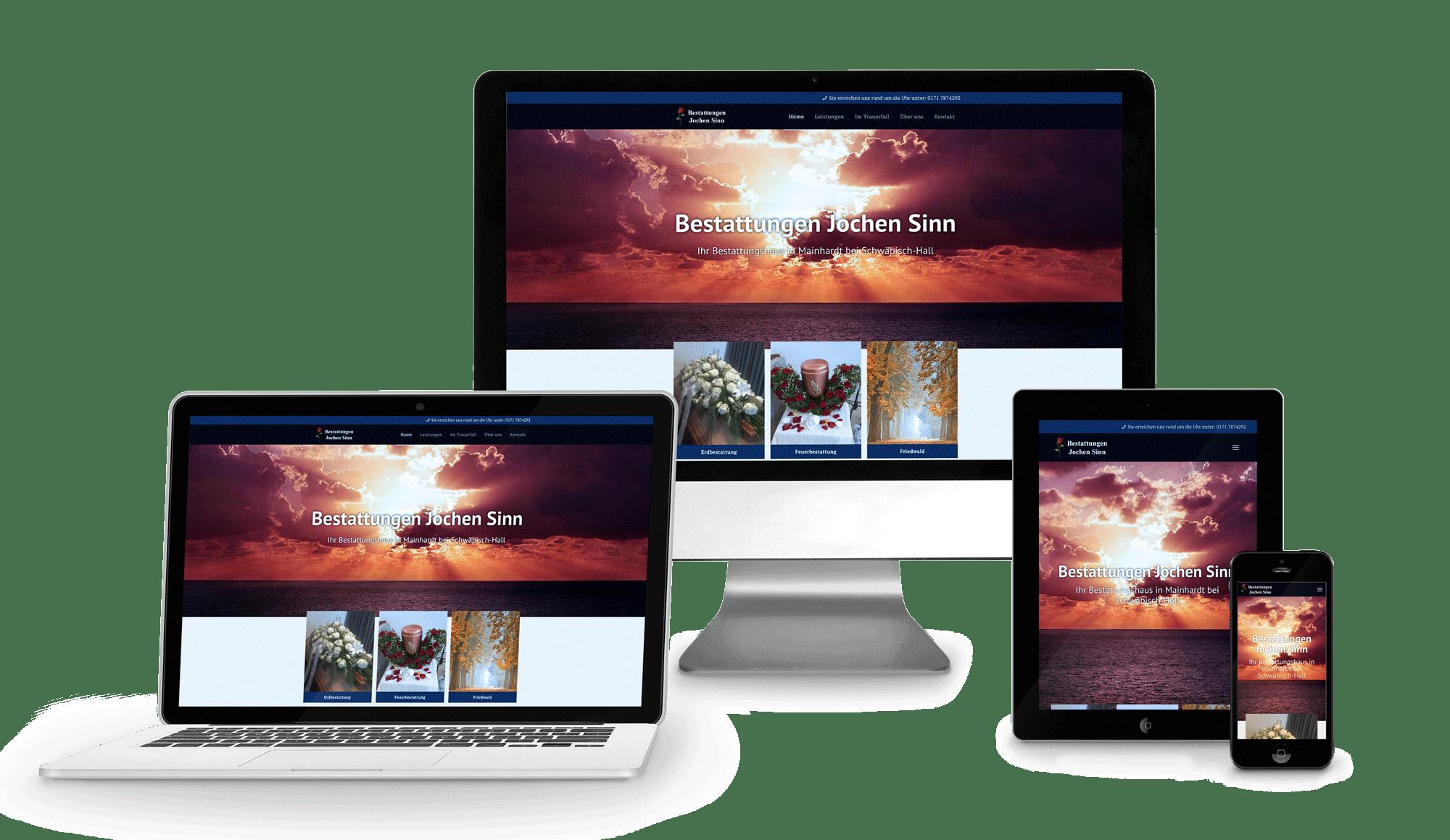 Bestattungen-Sinn-Web-Praesentation